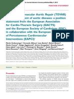Thoracic Endovascular Aneurysm Repair
