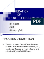 PREPERATION OF TNT