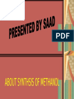 SYNTHEIS OF METHANOL