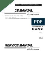 Manual Servico Tv Sony Kdl 22bx325
