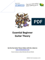 Beginner Guitar Theory