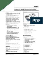 WiFly-RN171-datasheet