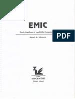 EMIC Escala Magallanes de Impulsividad Computarizada