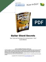 TG Guitar Chord Secrets