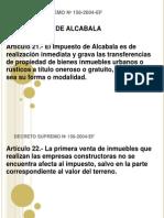 Impuesto Alcabala y Patrimonio Vehicular Jueves 10 04 2014