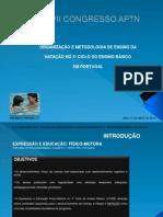 Organização e Metodologia de Ensino da Natação no 1º Ciclo do Ensino Básico em Portugal