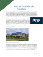 Introducción a La Tecnología Solar Fotovoltaica