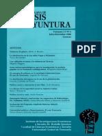 Analisis de Coyuntura Volumen II No 2 Julio Diciembre 1996