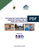 Estudio de RR.ss en Carhuayoc - IPES