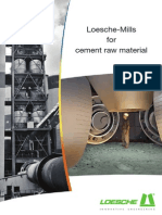 Loesche - Mills for Cement Raw Material