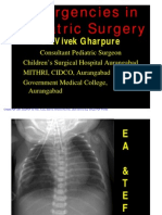 Emergencies in Pediatric Surgery