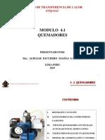 Quemadores de Gas Natural o Glp Modulo 4.1