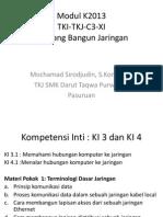 Modul K2013 - C3.5.XI-Rancang Bangun Jaringan