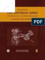 Neo-Assyrian Army 2. Cavalry and Chariotry, The