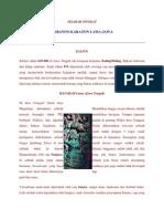 Sejarah Singkat Keraton Lama