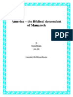 America – the Biblical Descendent of Manasseh