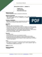 Planificacion Matematica 4Basico Semana 19