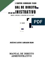 Carvalhinho - Direito ADM 2013