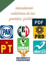 Antecedentes de Los Partidos Politicos