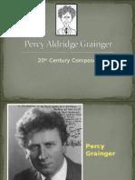 Percy Aldridge Grainger
