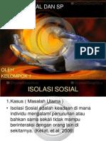 Isolasi Sosial Dan Sp Ppt Kelompok 2013