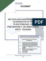 Plan de Onemi de Prevencion y Respuesta Ante Tsunami