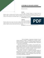 20080627 a Reforma Da Educacao