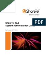 Shoretel 13.3 Admin Guide