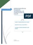 Demostración Ecuación de Conducción de Calor-coordenadas Esféricas