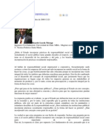 Responsabilidad Social Corporativa y Las Instituciones Públicas