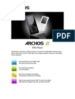 ARCHOS 2 Spec sheet_ENG_090409