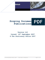 Scoping Document