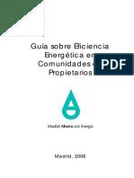 Guia Sobre Eficiencia Energetica en Comunidades de Propietarios Fenercom
