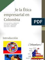 Papel de La Ética Empresarial en Colombia