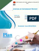 Internship Report Presentation Asma