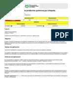 NTP 5 Identificación de Productos Químicos Por Etiqueta