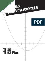 Manual Usuario TI89
