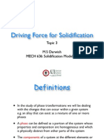 03 Driving Force for Solidification