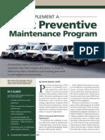 How to Implement a Fleet Preventive Maintenance Program