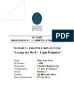 Technical Presentation Outline