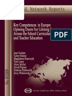 Key Competences in Europe