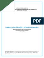 Pobreza, Discapacidad y Derechos Humanos - Martínez Ríos y Gómez Serrano (Spanish)