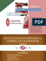 Evaluacion de Puestos de La Empresa de Transportes