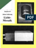 Original Baupläne / Nr. 60 / 1970