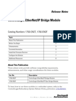 1756-En2T (EN2F) ControlLogix EtherNet-IP Bridge Module Release Notes