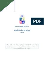 Modelo educativo UChile Versión Inicial