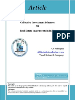 Article on Collective Investment Schemes for Real Estate Investment