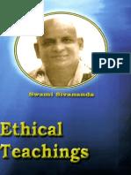 Ethical Teachings Swami Sivananda