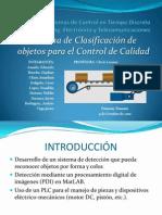 Control en Tiempo Discreto - Presentacion - Sistemas de Control de Calidad