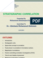 Stratigraphic Correlation